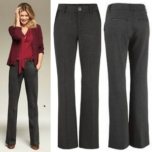 •CABI• Promotion Trouser Pant In Charcoal 2.